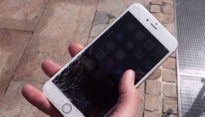 iPhone 6S Cracked