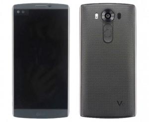 LG V10 front back