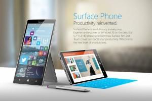 Microsoft Surface Phone Render