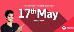 Moto G4 uitnodiging